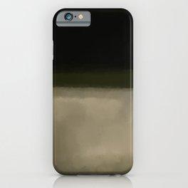 Rothko Inspired #5 iPhone Case