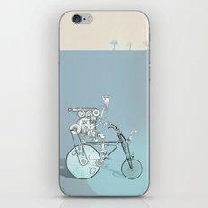 bicyclist... iPhone & iPod Skin