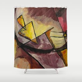 Abstract Forms Shower Curtain