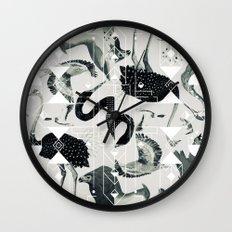 flock Wall Clock