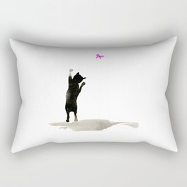 I Love Cats No. 8 by Kathy Morton Stanion Rectangular Pillow