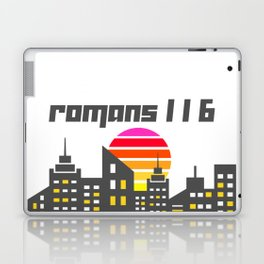 Romans 1:16 Laptop & iPad Skin