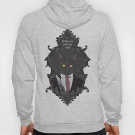American Psycho Kitty Hoody