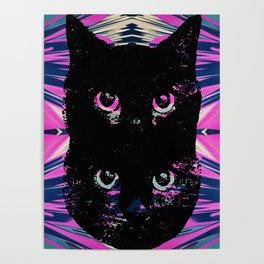 Black Cat Rising Poster