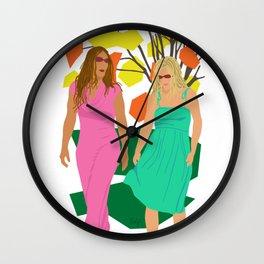 Sister Dread Wall Clock