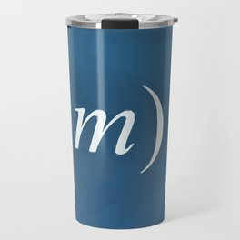 Equation of love Travel Mug