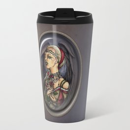 Marooned - Gothic Angel Portrait Travel Mug