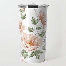 Flower pattern home design Travel Mug