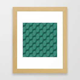 Op Art 55 Framed Art Print