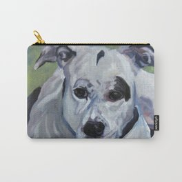 Staffordshire Terrier Dog Portrait Carry-All Pouch