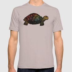 Turtle Glow Cinder SMALL Mens Fitted Tee