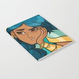 Mermista: Portrait of the most fed-up princess Notebook