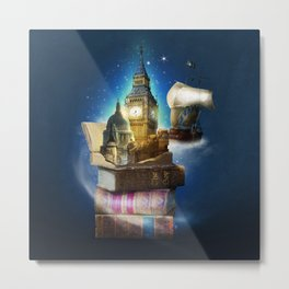 Stories from the second star Metal Print