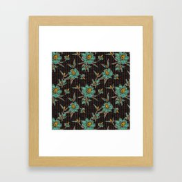 JAI FLORA KANTHA Framed Art Print