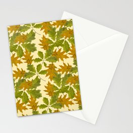 Leaves Camouflage Pattern Stationery Cards
