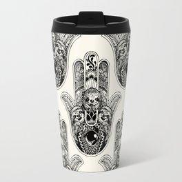 Hamsa Hand Sloth Travel Mug