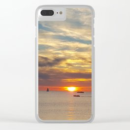 Sister Bay 2016 Sunset Clear iPhone Case