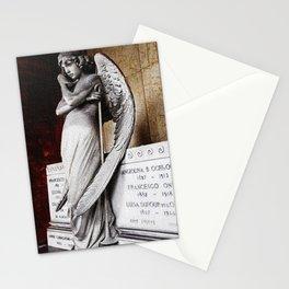 Angel of the Resurrection - Oneto Family Plot Portrait #2 by Jeanpaul Ferro Stationery Cards