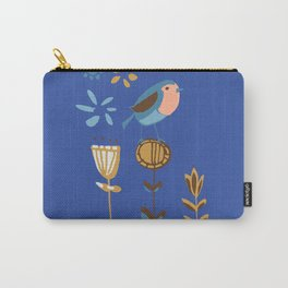 hygge blue bird Carry-All Pouch