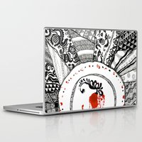 ukraine Laptop & iPad Skins featuring Mood of Ukraine by rusanovska