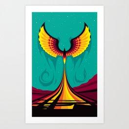 Phoenix Hope Art Print
