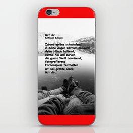 Mit dir iPhone Skin