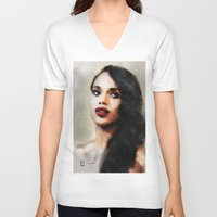 scandal V-neck T-shirts featuring Kerry by André Joseph Martin