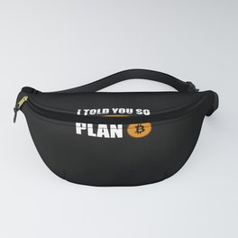 Bitcoin Bitcoin Gift Fanny Pack