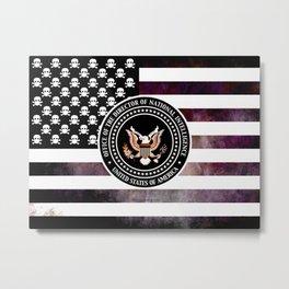 CIA - 004 Metal Print