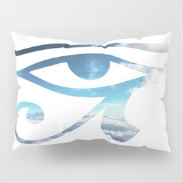 Eye of Horus Sky Background Pillow Sham