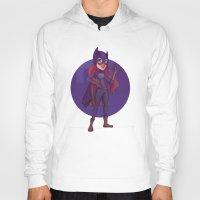 batgirl Hoodies featuring Batgirl by Blanca Limón