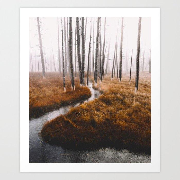 RIVER - 11318/1 Art Print