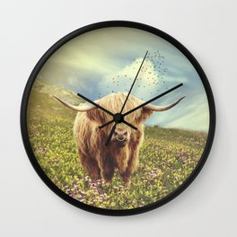 Ox Bull Wall Clock