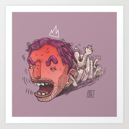 King Hit/Coward Punch Art Print