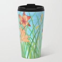 Lilly Garden Travel Mug