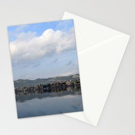 Panorama Of Marmaris Bay  by taiche Clear Panorama Of Marmaris Bay Stationery Cards