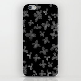 Le Fantôme De Fleurs  iPhone Skin