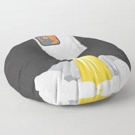 eye to the moon Floor Pillow