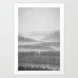 Northern Shores Art Print