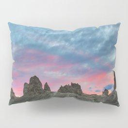Pastel Rainbow Sunset : Tronna Pinnacles Pillow Sham