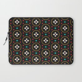 Blooming Dots Laptop Sleeve