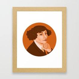 Queer Portrait - Colette Framed Art Print