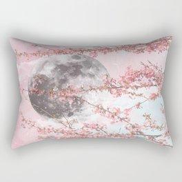 Spring Moon Rectangular Pillow
