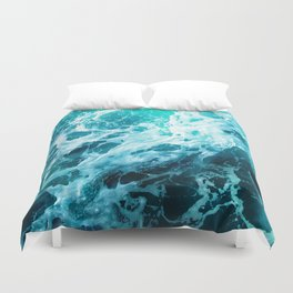 Out there in the Ocean Duvet Cover
