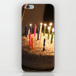Lighting The Candles iPhone Skin