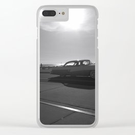 Vintage Set of Wheels Clear iPhone Case