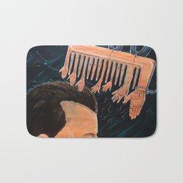 To comb social reactions Bath Mat