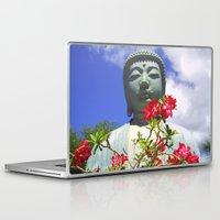 buddah Laptop & iPad Skins featuring Buddah Serenity by Magmata