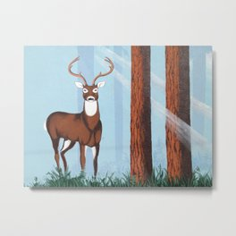 The Young Buck's Present Moment Metal Print