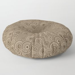 Orbis (Brown) Floor Pillow